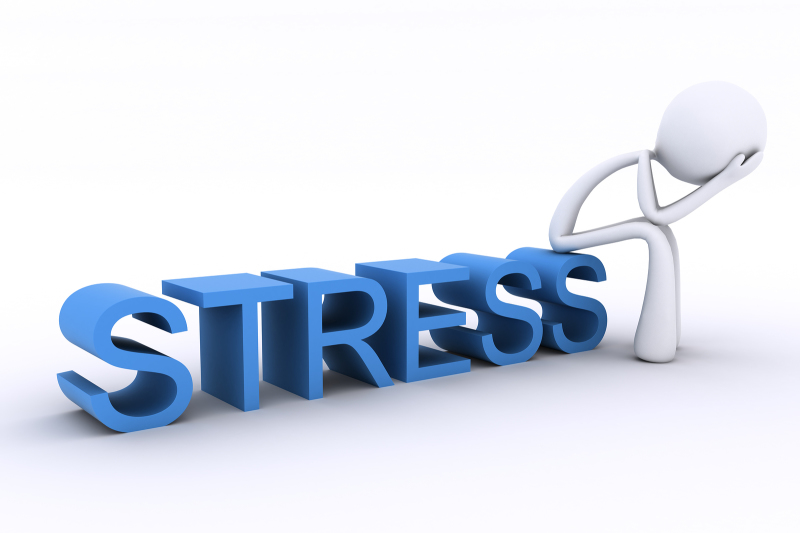 Stress demeans your strength, don't give in to stress